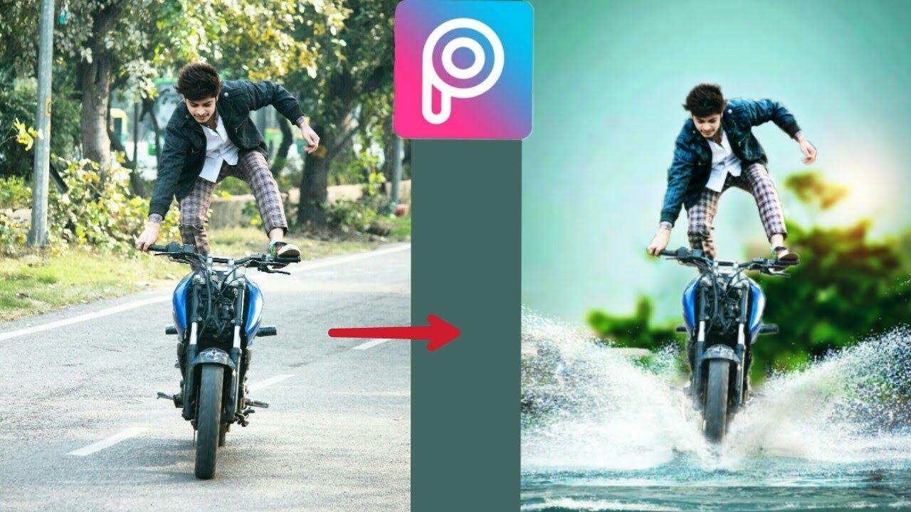 Editing Zone Bike Background: Picsart Background Change / Cb Editing /picsart Editing