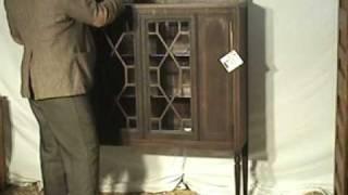 Mahogany Bookcase Curio Cabinet At Old Wood Market