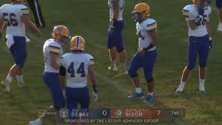Football | Ava at Buffalo | 8-28-20 Full Game