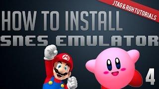 Jtag/RGH Tutorials #4: Installing Emulators (SNES360) + Download