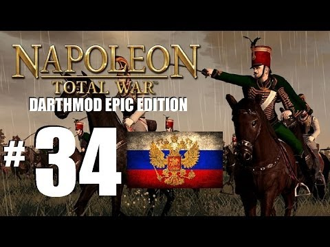 Napoleon Total War - EPIC Darthmod Russian Campaign part 34: Battle of Copenhagen