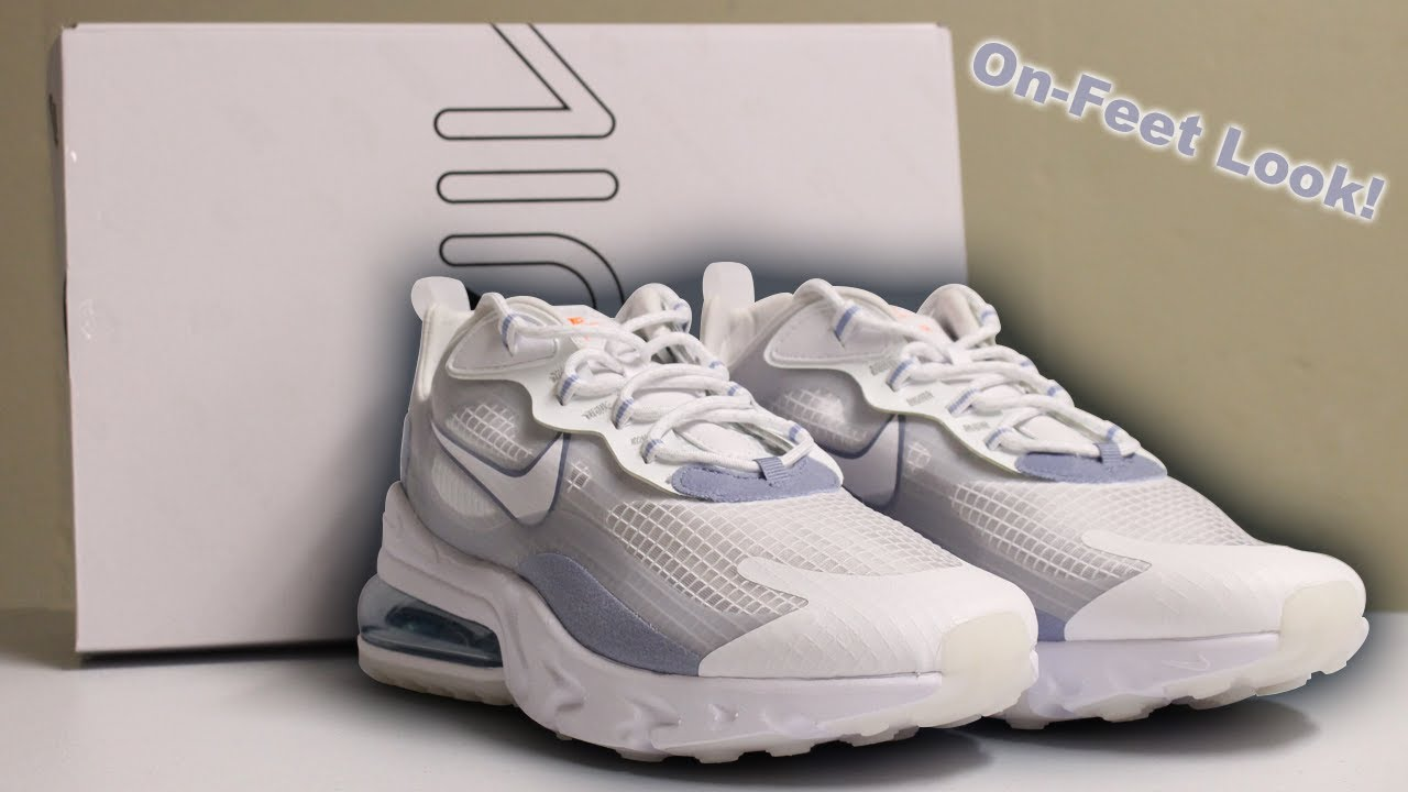 Unboxing Air Max 270 React Se Indigo Fog Sneaker Unboxing