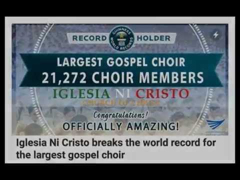 Iglesia ni Cristo Disrespects Guinness World Records?