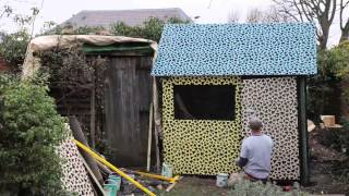 Britain's Worst Shed Gets Some New Threads Thanks To Cuprinol And Eley Kishimoto