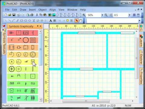How to draw an electrical wiring diagram - YouTube