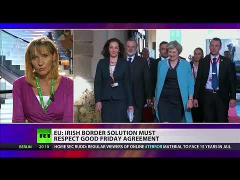 EU: Irish border must respect Good Friday agreement