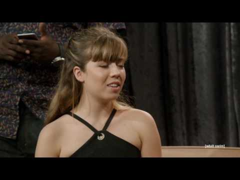 Jennette McCurdy on the Eric Andre
