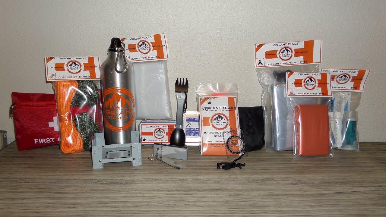 Venturer-215 Vigilant Trails® Survival Kit
