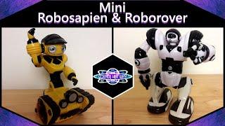 Mini Action Bots! | STEAM Robot Reviews | WowWee: Mini Robosapien & Mini Roborover