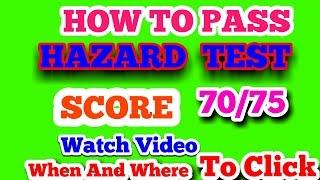 HOW TO PASS HAZARD PERCEPTION TEST    DVSA CLIPS 17