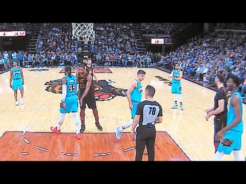 Tristan Thompson Slaps Jae Crowder's Behind & Gets Ejected! Cavaliers vs Grizzlies
