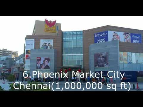 Top 10 Largest Malls Of India