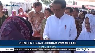 Ini Pesan Jokowi ke Ibu-Ibu Nasabah Program PNM Mekaar di Magetan