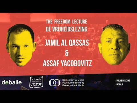 Freedom Lecture - Combatants for Peace: Jamil al Qassas & Assaf Yacobovitz - De Vrijheidslezing