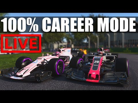 F1 2017 - 100% Distance Career Mode  | Round 2: Shanghai