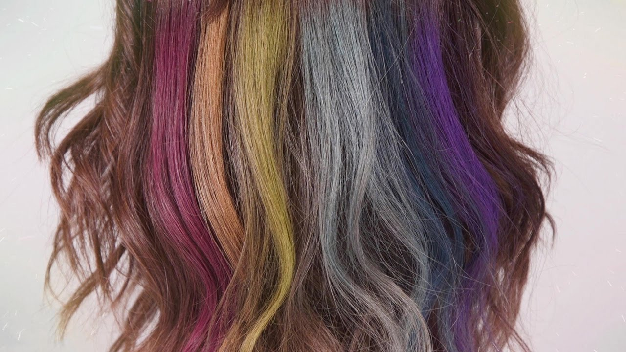 How-To Have Rainbow Fun with Splat Hair Chalk