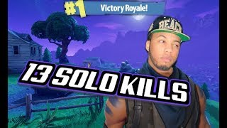 The #1 Most Lit Player - Fortnite Solo (13 Kills)