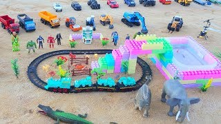 Mainan Kereta Api Alat Berat | Truk Mainan | Excavator Mainan | Video For Children