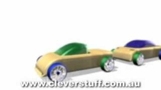 Automoblox  - Wooden Cars