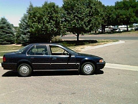 1992 Honda Accord 2.2L Speed Sensor & EGR Valve