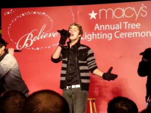 menudo performing this christmas at the macy's tree lighting