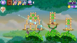 Angry Birds Stella - Unlock Luca Bird - Soundwave Shock - Levels 23-28