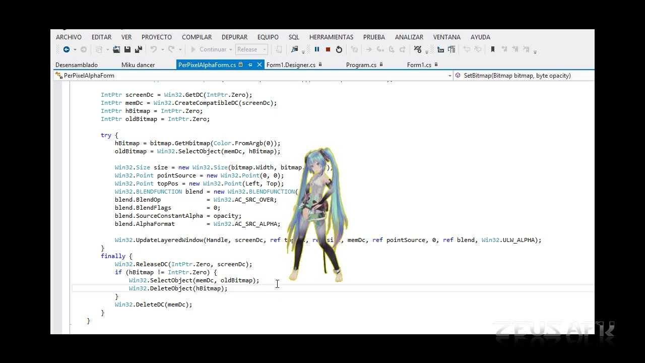 C desktop miku dancer test youtube c desktop miku dancer test voltagebd Image collections