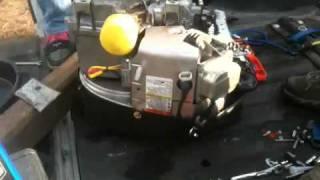 Briggs and Stratton Interim Power Cube 27 hp Engine Leak