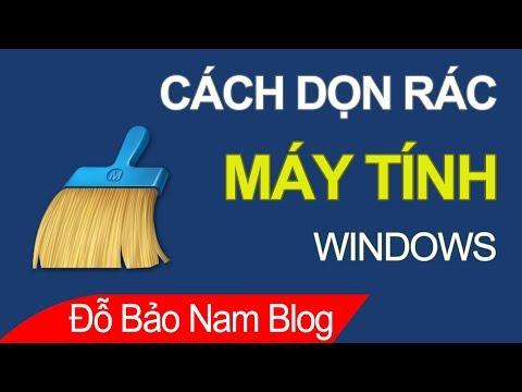 Cách Dọn Rác Máy Tính, Cách Dọn Dẹp File Rác Giúp Tăng Tốc Windows
