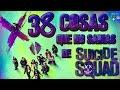 38 Curiosidades de Escuadrón Suicida (Spoilers)-¿Sabías qué..?#37 |Popcorn News