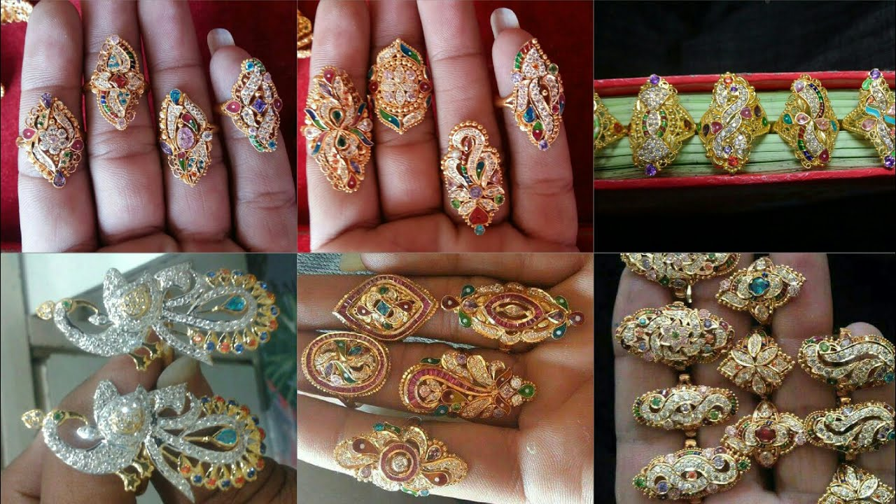 New Model Rings Design | Rajputi Anguthi Design | Antique Rings ...