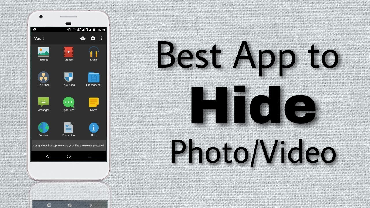 Best App to Hide Photo/Video on Android    Explained   