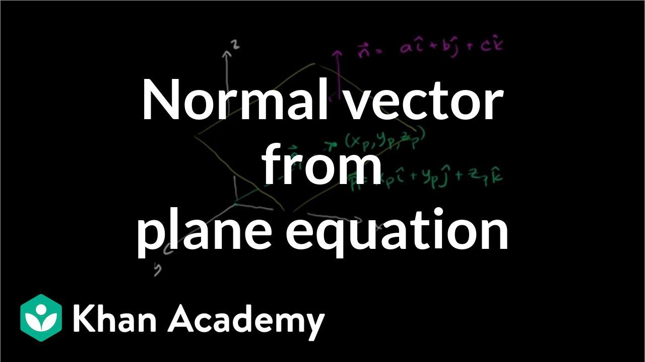 Vectors and Planes (videos, worksheets, solutions, activities)
