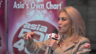 AGNEZ MO talks Timbaland, TI & Missy with Dom Lau on Asia Pop 40