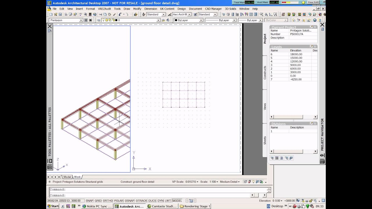 100 staircase detail dwg detail autocad 55 concrete for Domon chateauguay