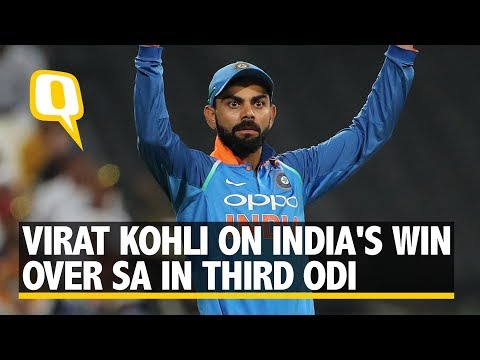 Virat Kohli Speaks After India Beat SA in Cape Town | The Quint