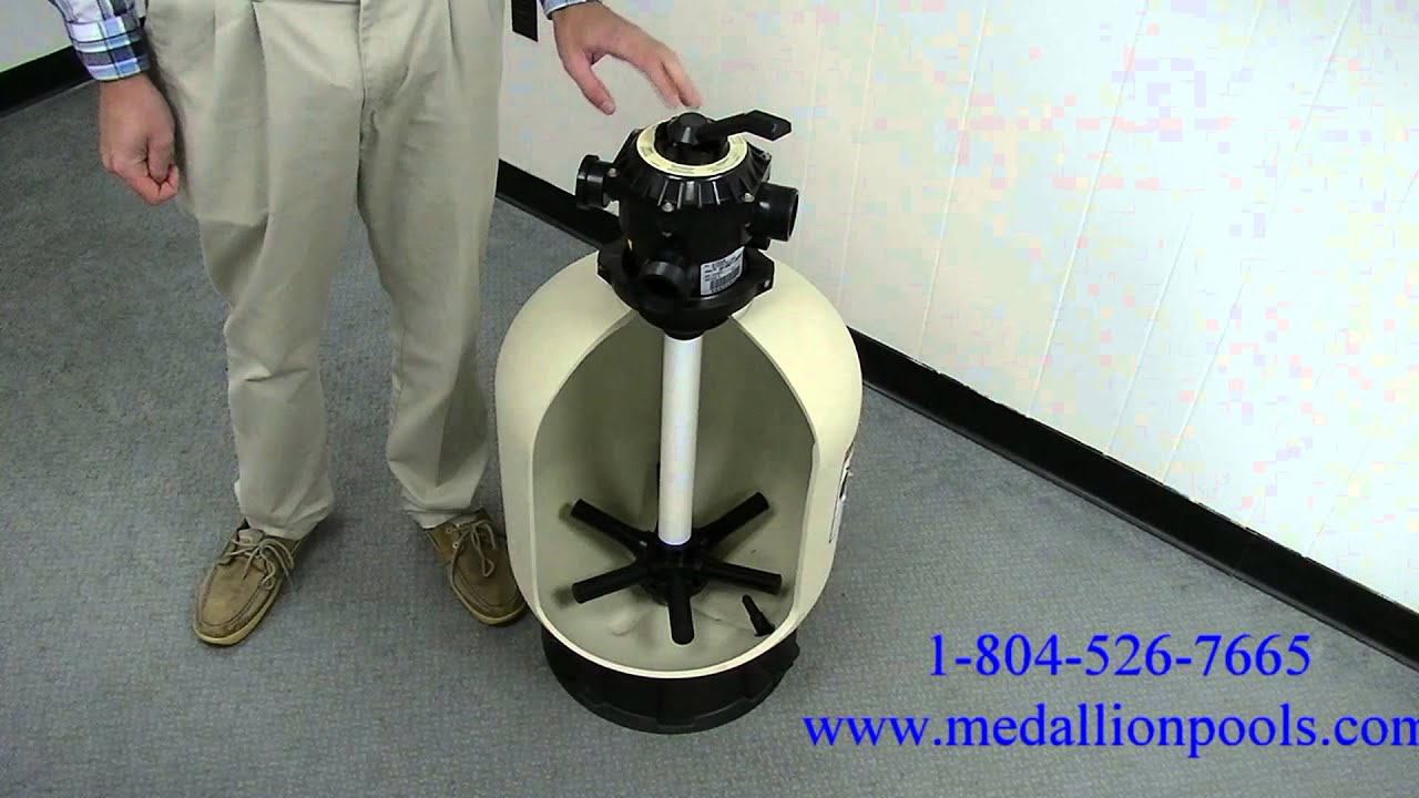 Using A Sand Filter Multiport Valve Youtube