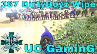 "Ark PS4 Official Server Wipe - UC GaminG ""367 DirtyBoyz Wipe"""