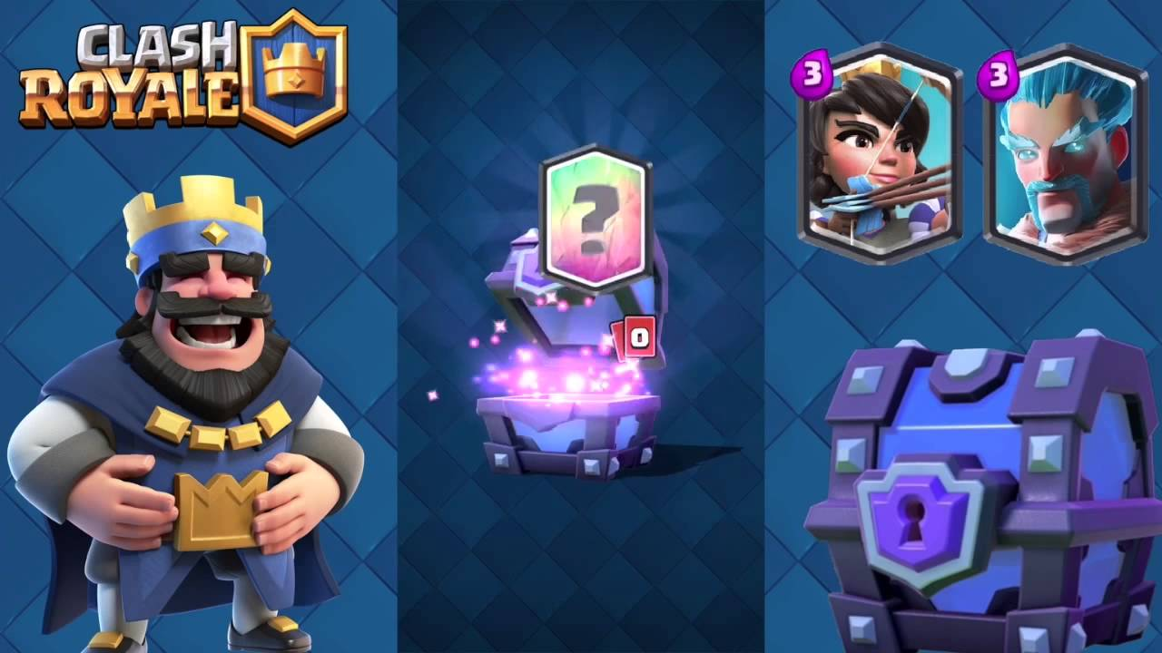 Clash Royale - TOP 5 SUPER MAGICAL CHEST Opening - LEGENDARY CARDS