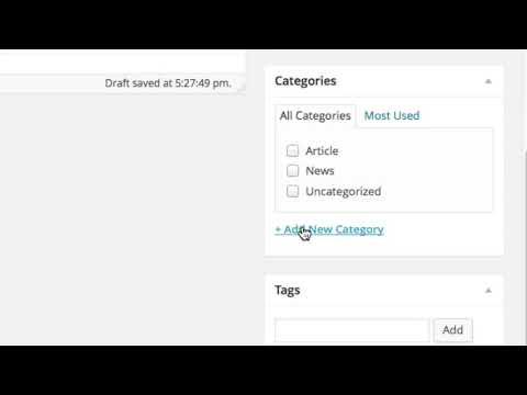 Wordpress Tutorial - Introduction thumbnail