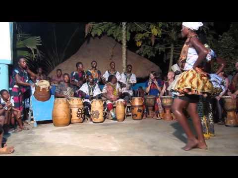 Ewe Dance from Salaka - Rhythm Power Ghana 2015