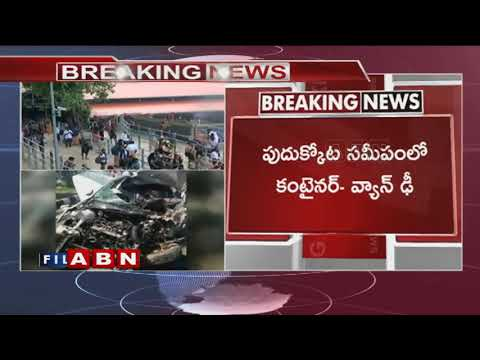 Breaking News | 10 Telugu pilgrims lost life in road mishap at Tamil Nadu | ABN Telugu