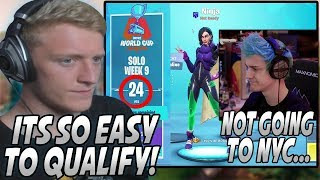 Tfue Sends SHOTS At Ninja After He Did NOT Qualify For The Solo World Cup Finals... (Last Chance)
