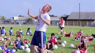 Tropics Join Jogo Bonito Mustang Soccer Camp