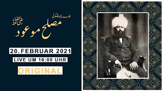 Jalsa Peshgoi Musleh Mau'ud (ra) - Original