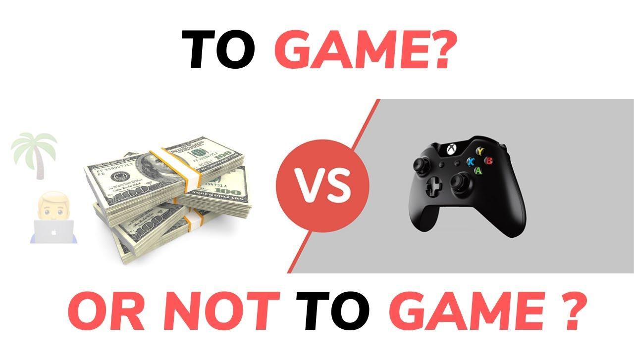 Gamer vs Side-Hustler ??(Case Study) (Quit Gaming Motivation + gaming business ideas)