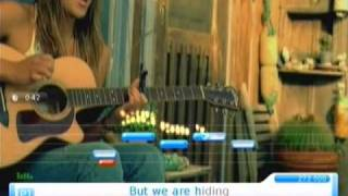 Bubbly | Colbie Caillat | U-SING 2, Karaoke on Wii