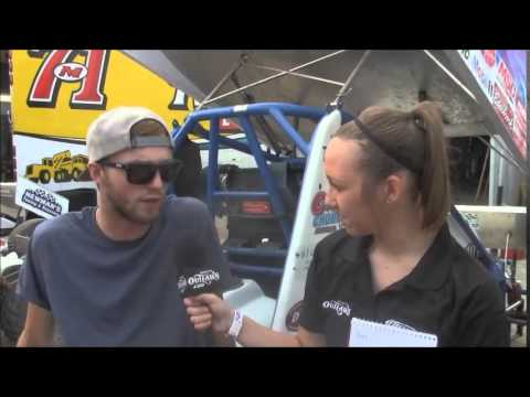 2015 World of Outlaws Ironman 55: One-on-One with Jacob Allen