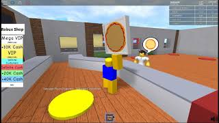 Acting like a noob in roblox