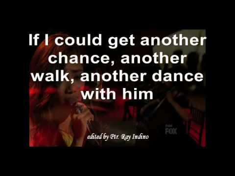 Jessica Sanchez: Dance With My Father w/lyrics